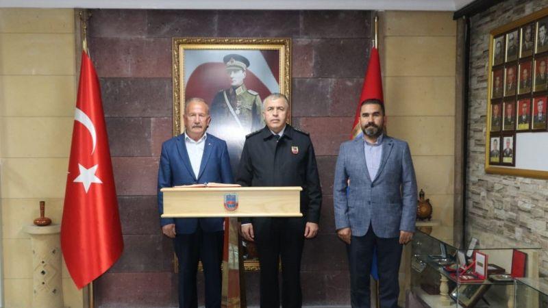 Nevşehir İl Alay Komutanı Yakın'a NTB'den Hayırlı Olsun Ziyareti