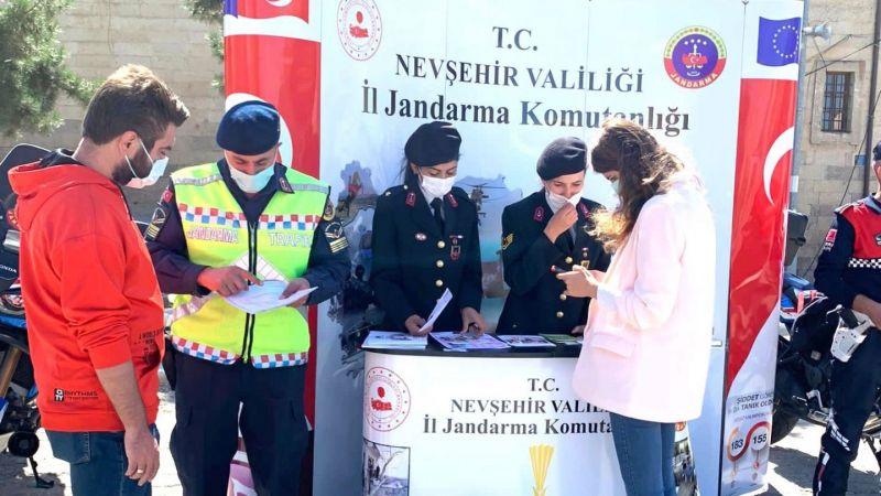 Jandarma Teşkilatı Kurulan Stand İle Tanıtıldı