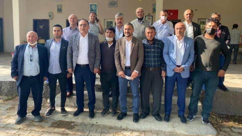 Başkan Dinç ve Ak Parti Milletvekilleri Hacıbektaş'ta