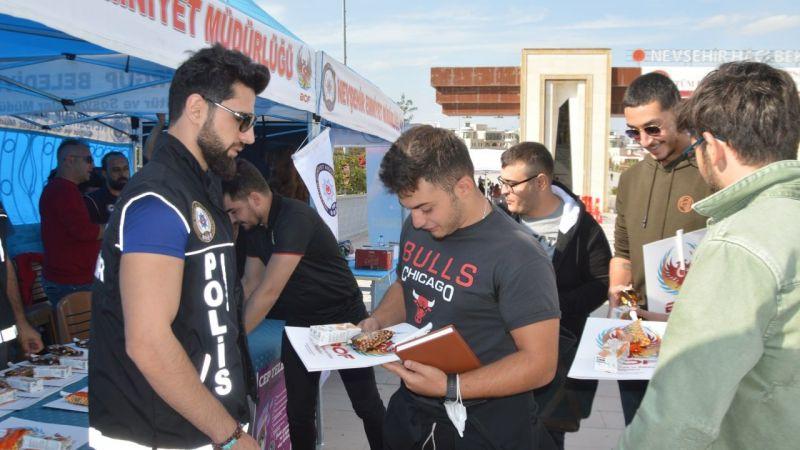 Nevşehir Emniyeti Üniversite Öğrencilerini Unutmadı!