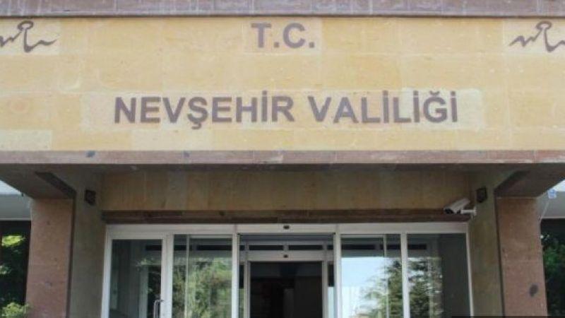 Nevşehir Valiliği'nden Açıklama