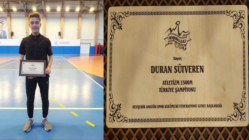 Bahçeşehir Koleji Öğrencisi Duran Sütveren'den Gururlandıran Başarı