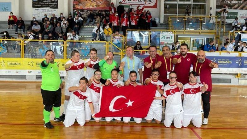 Avrupa Şampiyonu Down Sendromlular Futsal Milli Takımı Oldu