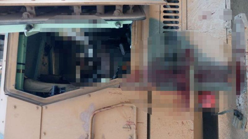 PKK/YPG'li Teröristlerin Polis Aracına Saldırdı 1 Şehit, 3 Yaralı