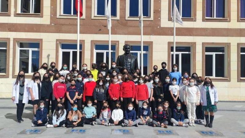 Nevşehir Bahçeşehir Koleji Dünya Kız Çocukları Günü'nü Kutladı