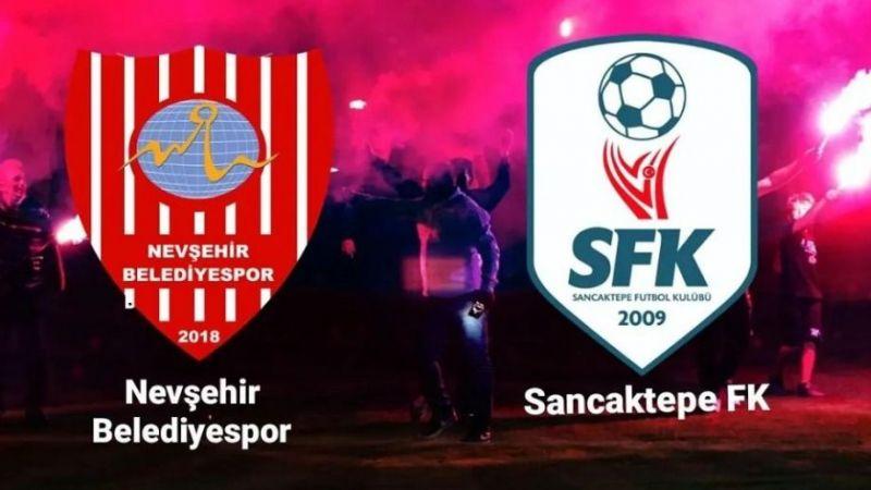 Nevşehir Belediyespor Kendi Sahasın'da Sancaktepespor'u Ağırlıyor