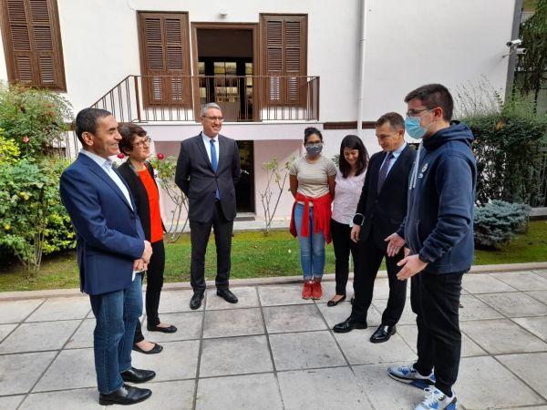 BioNTech'in Kurucu Ortakları Selanik'te Atatürk Evi'ni Ziyaret Etti
