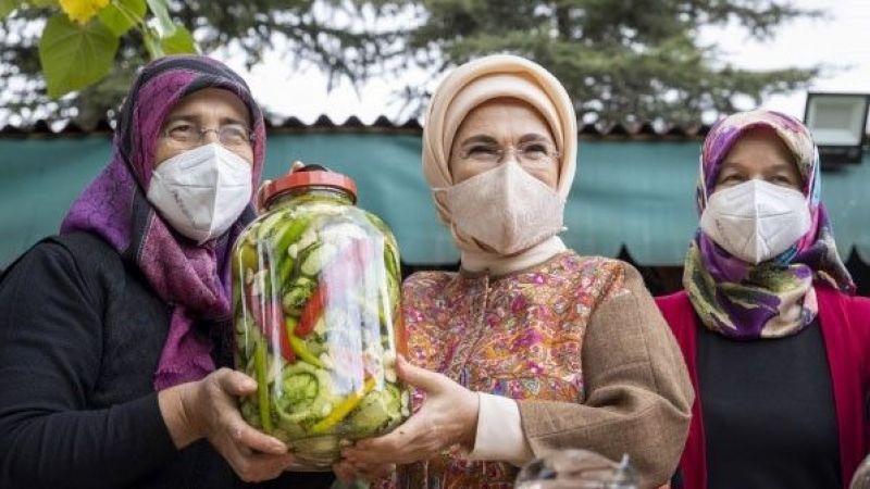 Nevşehir'in Üzüm Sirkesi ve Kaya Tuzu Turşu İçin Çok Önemli