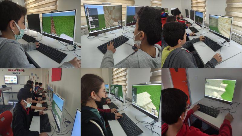 Bahçeşehir Koleji'nde Minecraft İle Anıtkabir İnşa Yarışması Başladı