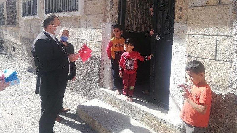 Göç İdaresi Ziyaretlerinin İkincisi Karasoku Mahallesineydi