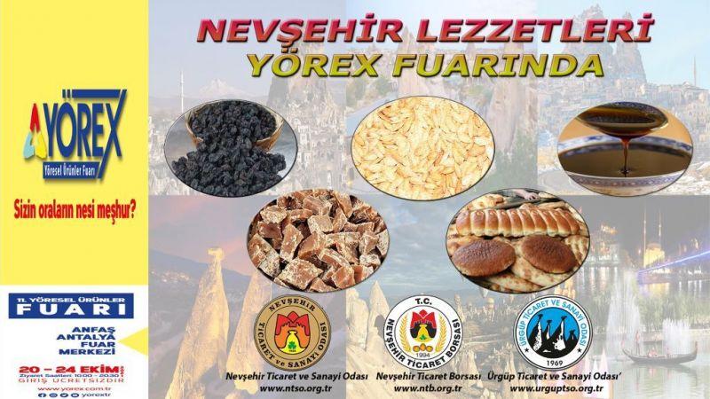 Nevşehir'in Yöresel Ürünleri Fuarda Tanıtılacak