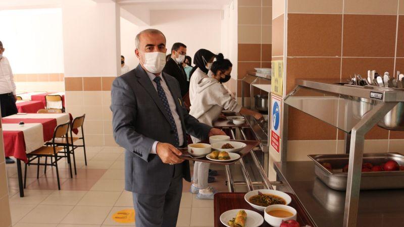 Milli Eğitim Müdürü Murat Demir İncelemelerde Bulundu