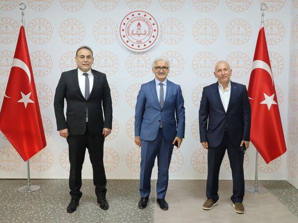 Menekşe'den Ankara Milli Eğitim Müdürüne Ziyaret