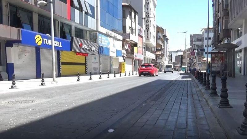 Yasak yok ama Gaziantep sokakları bomboş