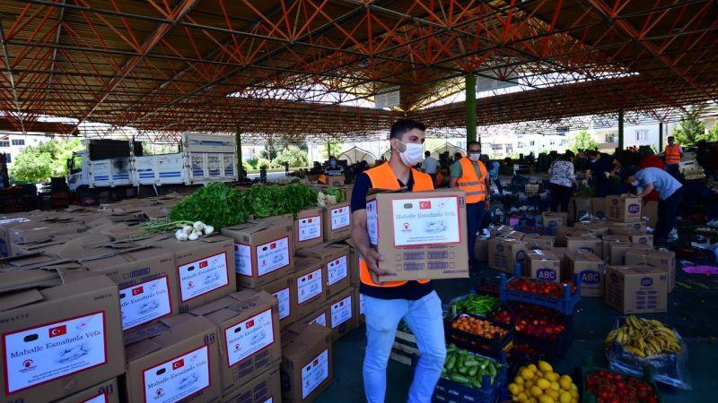 Gaziantep Valiliğinden 350 bin liralık meyve sebze desteği