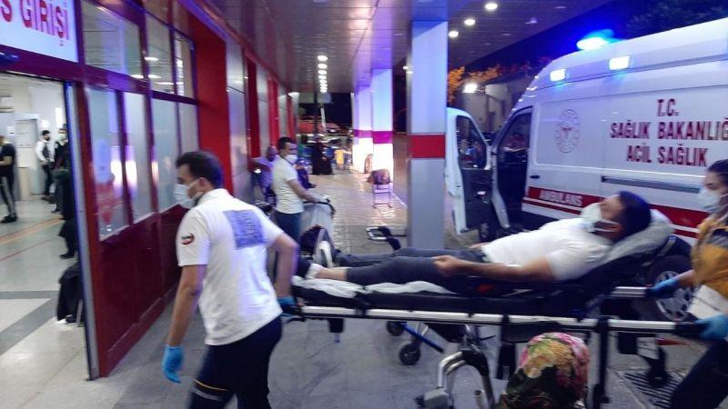 Gaziantep'te yorgun mermi komiseri yaraladı