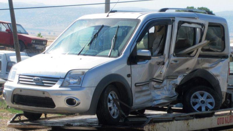 Gaziantep'in ilçesinde feci kaza... Çok sayıda yaralı var
