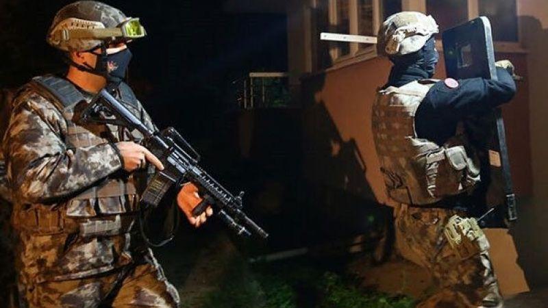 Gaziantep'te 675 polisle Narko-Şahin 27 operasyonu
