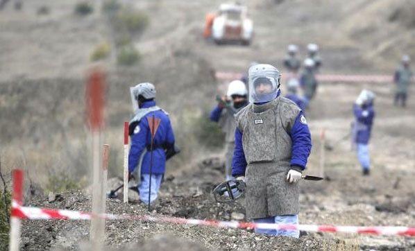 Mayın haritası karşılığında 15 Ermeni esir iade