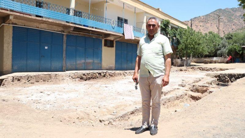 Gaziantep'te evinin bahçesinden servet çıkan adam konuştu