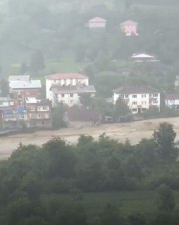 Karadeniz'de sel felaketi