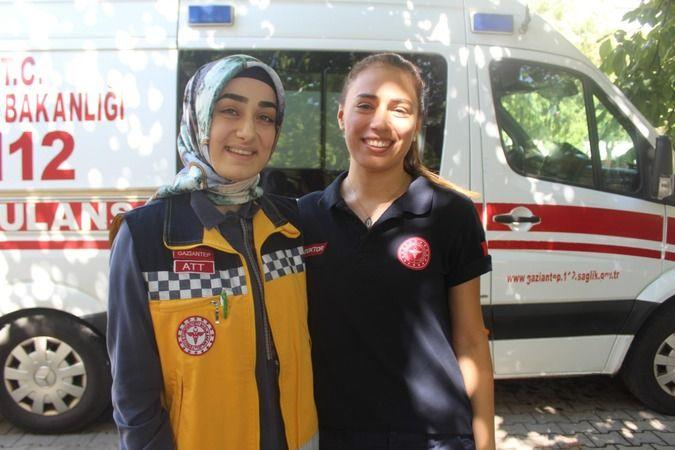 Gaziantep'te iki güzel gönüllü sağlıkçının hikayesini duydunuz mu ?