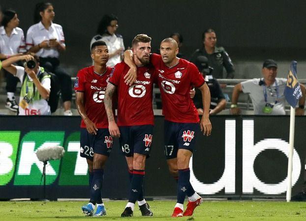 Burak Yılmaz ve Yusuf Yazıcı'li Lille, Fransa Süper Kupasını aldı