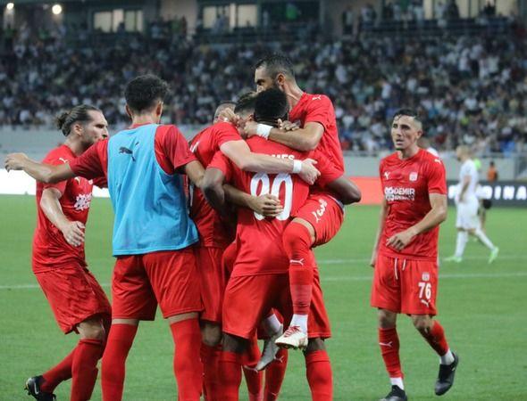 Dinamo Batumi: 1 - Sivasspor: 2 (Maç sonucu)