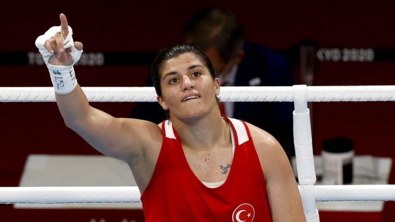 Busenaz Sürmeneli... O bir olimpiyat şampiyonu