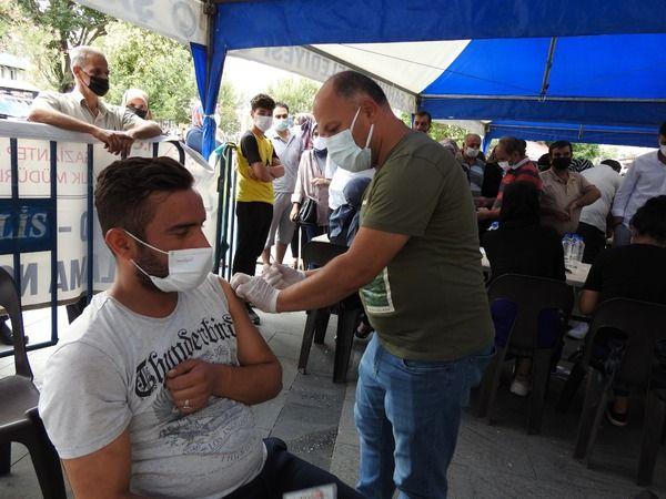 Gaziantep'te aşıya rağbet giderek artıyor