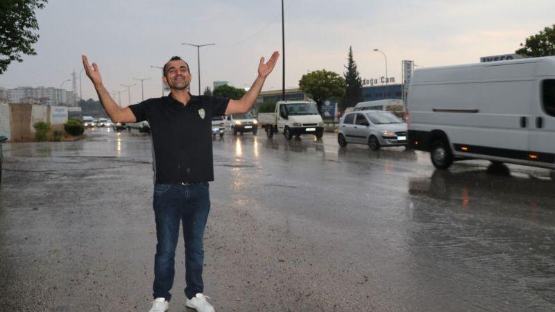 Gazianteplinin yağmur sevinci