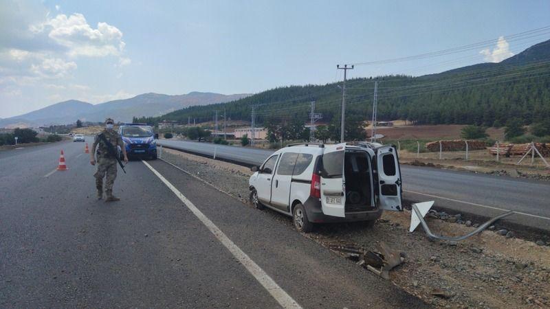 Gaziantep'te araç takla attı: 1 ölü, 3 yaralı