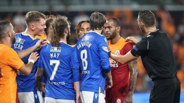 St. Johnstone: 2 - Galatasaray: 4 (Maç sonucu)
