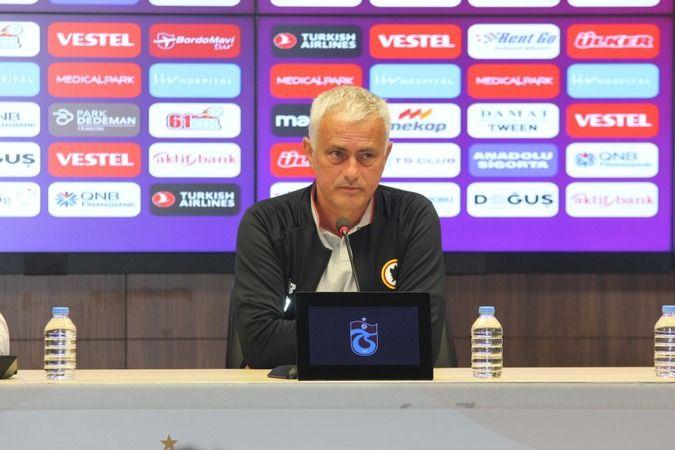 Jose Morinho Trabzon'da konuştu