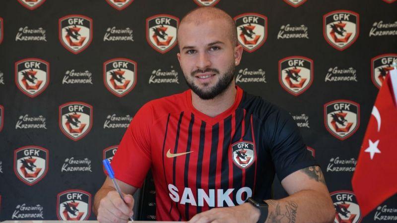 Gaziantep FK'ya sambacı golcü