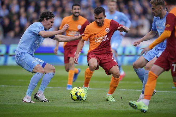 Galatasaray'dan avantajlı skor