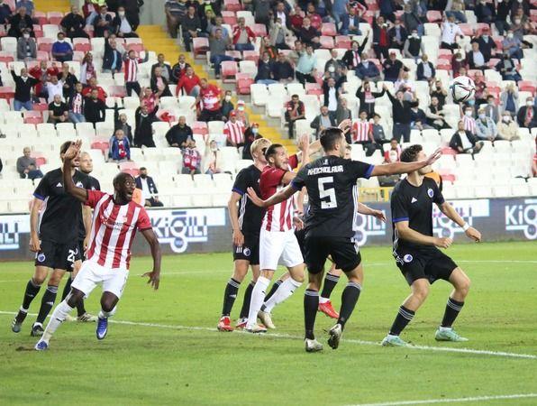 Sivasspor: 1 - Kopenhag: 2 (Maç sonucu)