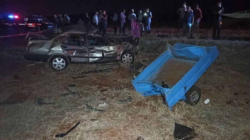 Bir feci kaza daha... 4 ölü, 1 ağır yaralı