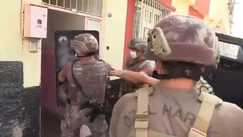 Gaziantep'te operasyon... Çok sayıda gözaltı var
