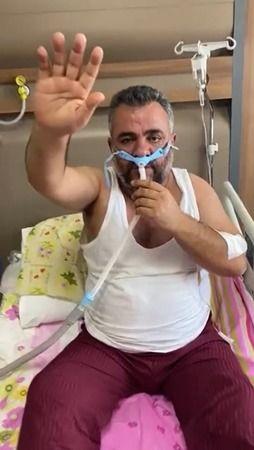 Gaziantep korona hastasının son vedası