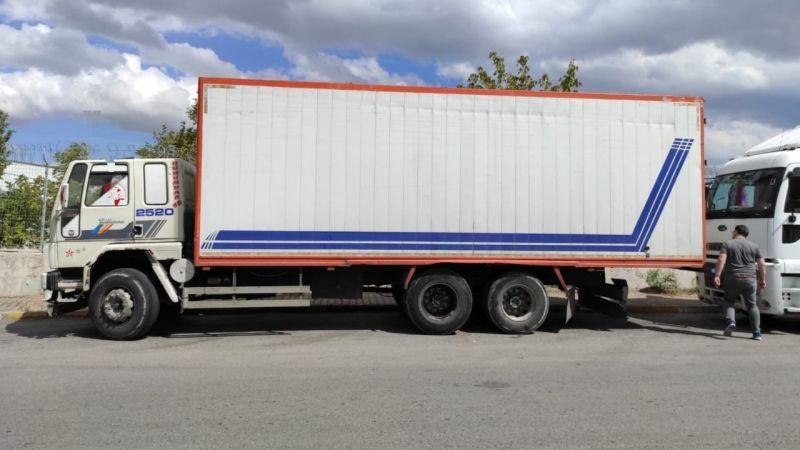 14 ton yağ yüklü kamyon buhar oldu