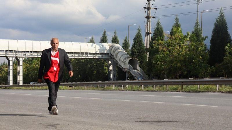 Aşı da olmam test de yaptırmam Ankara'dan İstanbul'a yürürüm