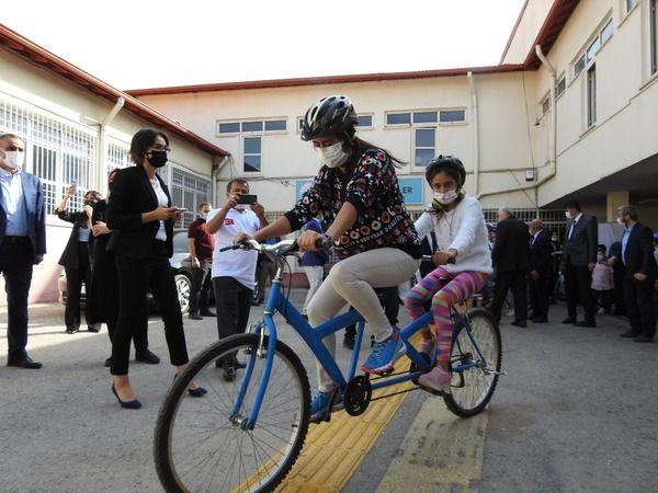 Gaziantep'te görme engelli öğrenciler bir ilki yaşadı