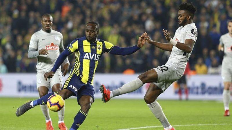 Fenerbahçe zor kazandı