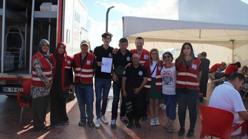 Tuzla'da Kan ve Kök Hücre Bağışı Seferberliği