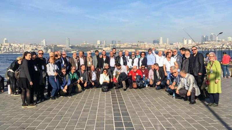 Türkiye Gazeteciler Federasyonu Başkanlar Konseyi İstanbul'da Gerçekleşti