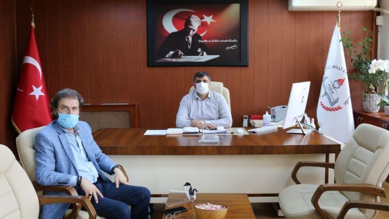 Tuzla Milli Eğitim Müdürü Volkan Pullu'yu Ziyaret Ettik
