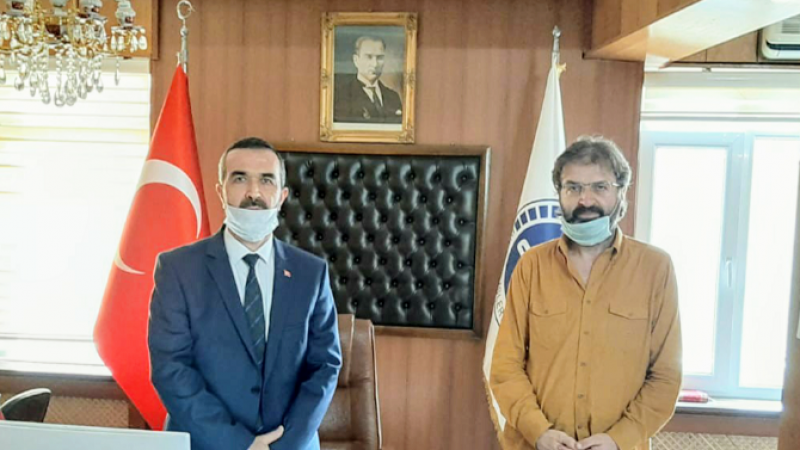 Müftü  Mustafa Aydın Göreve Başladı