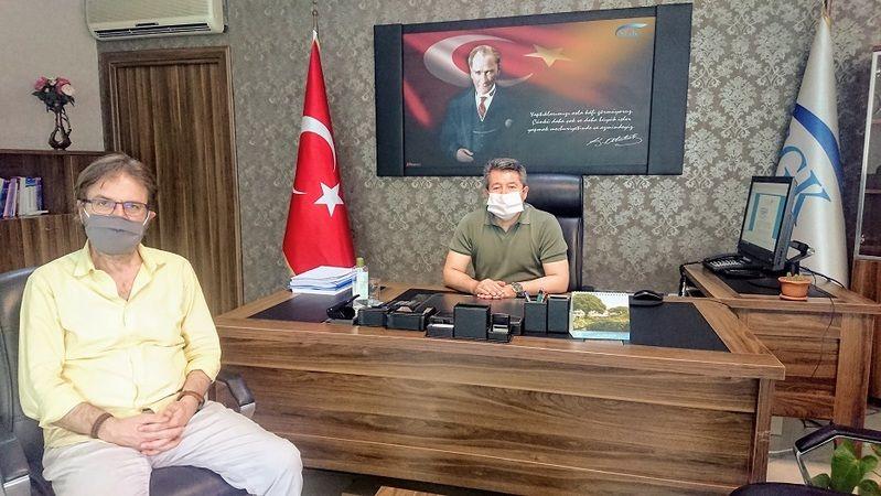 Yeni Tuzla SGK Müdürü Adem Koç'u Ziyaret Ettik