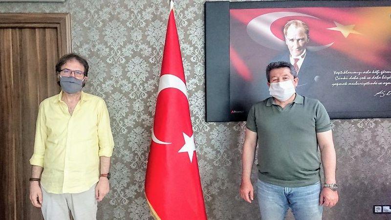 YeniTuzla SGK Müdürü Adem Koç'u Ziyaret Ettik